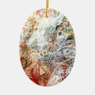 Mists of the spirit realm ceramic ornament