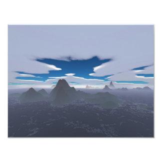 Misty archipelago card