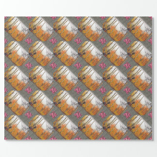 Misty Autumn Aspen Wrapping Paper