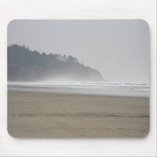Misty beach mouse pads