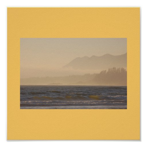 Misty Beach Print