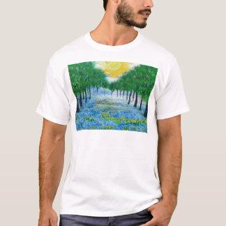 Misty Blue Meadow T-Shirt