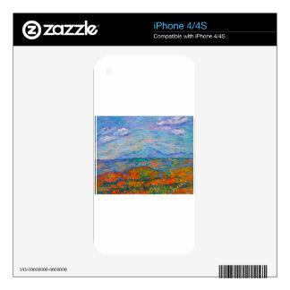 Misty Blue Ridge Autumn Skin For iPhone 4S