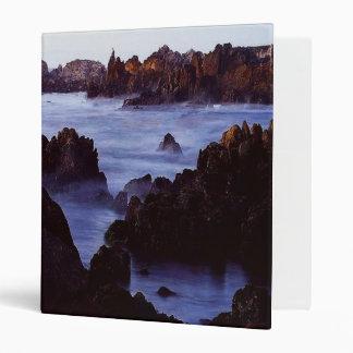 Misty Coast 3 Ring Binder