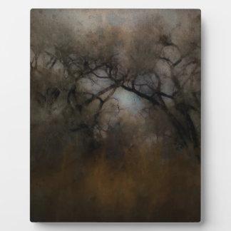 Misty Cottonwoods Plaque