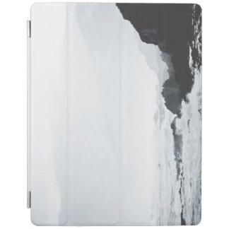 Misty Crashing waves iPad Cover