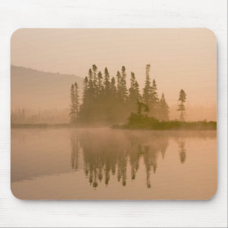 Misty dawn on East Inlet, Pittsburg, New Mousepads