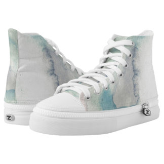 Misty Daydream Hi Top Printed Shoes