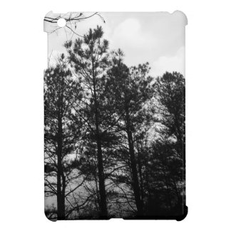 Misty Ethereal  Haunted Trees Forest Woods Fog iPad Mini Cover
