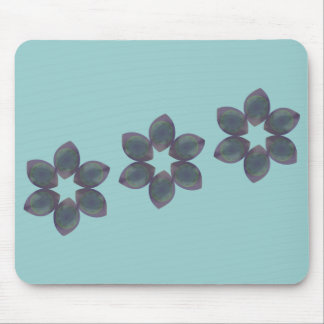 Misty Eyed Flower Mouse Pad