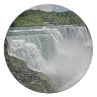Misty Falls Plate