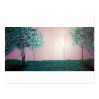 Misty Forest by ruby dubin Postcard
