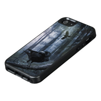 Misty Forest Crows OtterBox iPhone SE Case