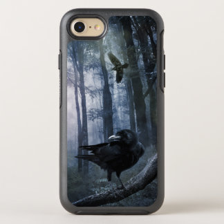 Misty Forest Crows OtterBox Symmetry iPhone 7 Case