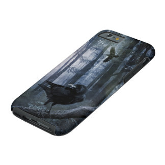 Misty Forest Crows Tough iPhone 6 Case