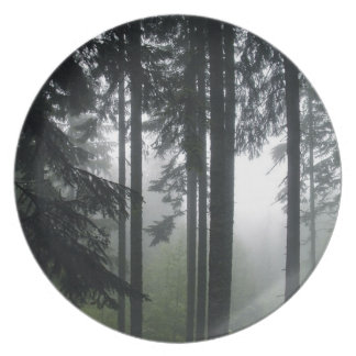 Misty Forest II Nature-lover' Earth Day Wilderness Party Plates