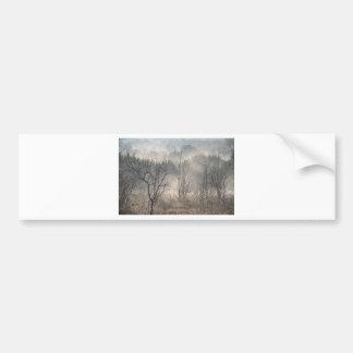Misty Forest.jpg Bumper Sticker