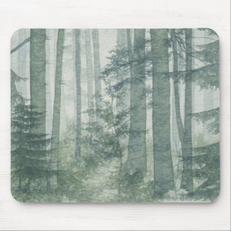 Misty Forest Mouse Pad