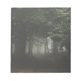 Misty Forest Notepad
