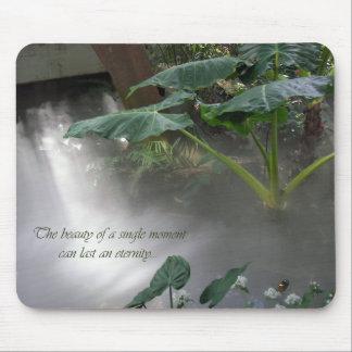 Misty Garden Mouse Pad