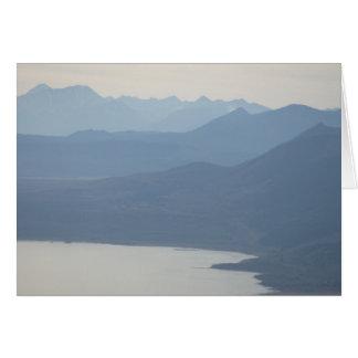 Misty Lake Card