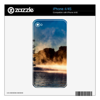 Misty Lake Decal For iPhone 4