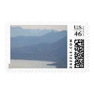 Misty Lake Postage