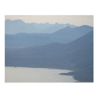 Misty Lake Postcard
