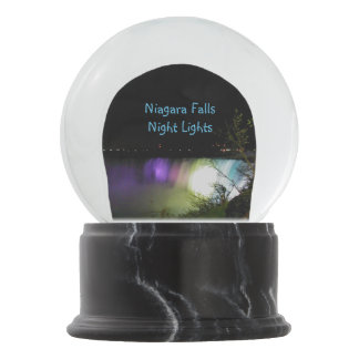 Misty Lights Niagara Falls Snow Globe
