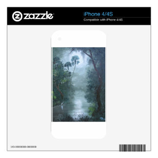 Misty Loxahatchee River Skin For The iPhone 4