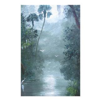 Misty Loxahatchee River Stationery