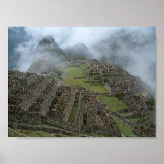 """""""Misty Machu Picchu"""" 14x10.5 poster"""