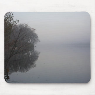 Misty Michigan Morning Mouse Pad