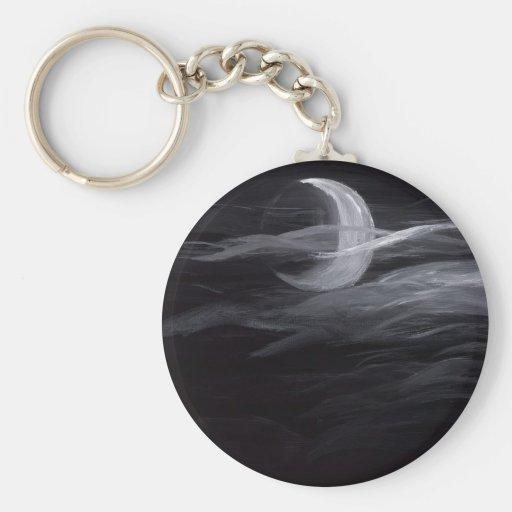Misty Moon Key Chain