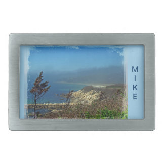 Misty Morning at Nobska Point - Cape Cod MA Belt Buckle