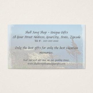 Misty Morning at Nobska Point - Cape Cod MA Business Card