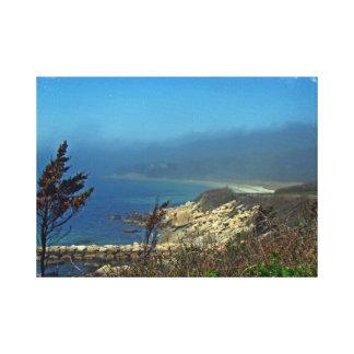 Misty Morning at Nobska Point - Cape Cod MA Canvas Print