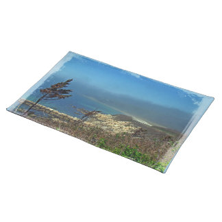 Misty Morning at Nobska Point - Cape Cod MA Cloth Placemat