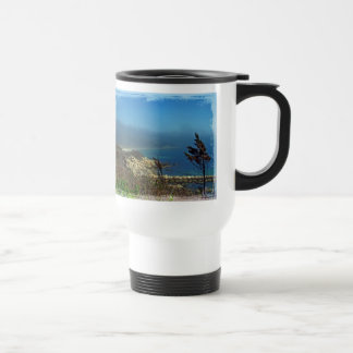 Misty Morning at Nobska Point - Cape Cod MA Coffee Mug