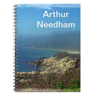 Misty Morning at Nobska Point - Cape Cod MA Notebook
