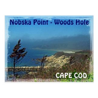 Misty Morning at Nobska Point - Cape Cod MA Post Cards