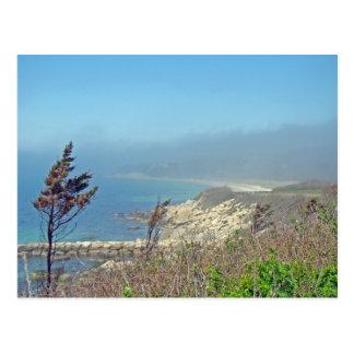 Misty Morning at Nobska Point - Cape Cod MA Post Card