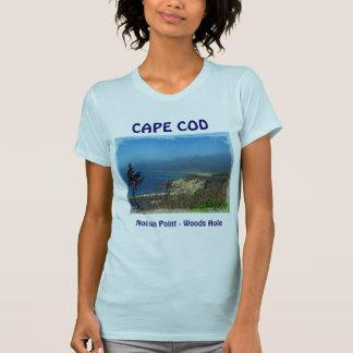 Misty Morning at Nobska Point - Cape Cod MA Shirts