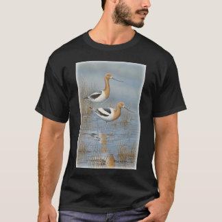Misty Morning Avocet T-Shirt