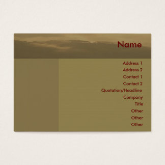 Misty Morning Business Card