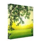 Misty Morning Canvas Prints