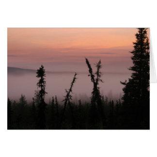 Misty Morning Card