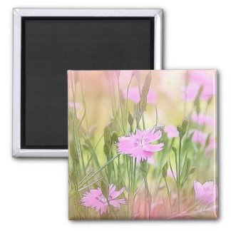 Misty Morning Dianthus Magnet