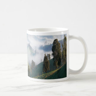 misty morning  Ensay Swifts Creek region Australia Coffee Mug