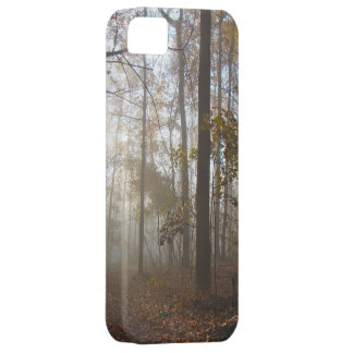 Misty Morning in the Forest iPhone SE/5/5s Case